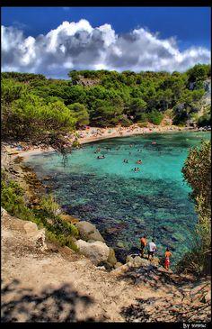 Cala Macarella (Menorca)  Spain