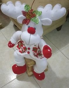 1 million+ Stunning Free Images to Use Anywhere Christmas Sewing, Christmas Art, Christmas Projects, Christmas Ornaments, Decor Crafts, Diy And Crafts, Moose Decor, Creation Couture, Xmas Decorations
