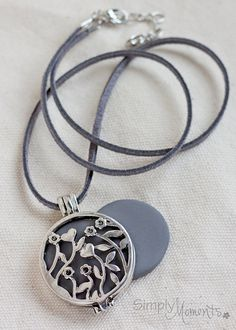 This necklace is so simple and versatile, it would make a great gift for any essential oils lover.