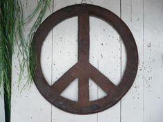 Wanddeko - Peace Zeichen - Wandobjekt - ein Designerstück von pixisdays bei DaWanda