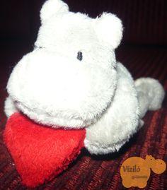 No. 43   víziló   plüss   kulcstartó   hippo   plush   keyring