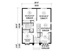 Floor Plan, 072H-0035
