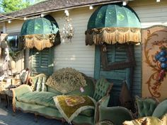 BOISERIE & C.: Bohemian Gypsy for indoor or outdoor living