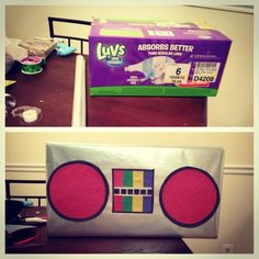 DIY before and after Dj lance boom box for my sons party