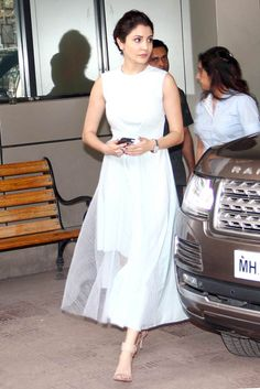 Anushka Sharma at a promotional event of Bombay Velvet.