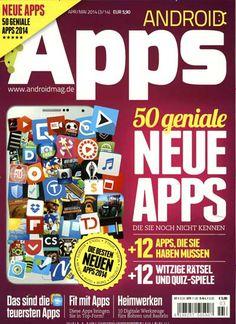 Android-Apps der Spitzenklasse. Gefunden in ANDROID Apps Nr. 3/2014
