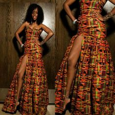 Ghana's gift to African fashion continue to impress the world. Here are the latest trends in Kente world ...