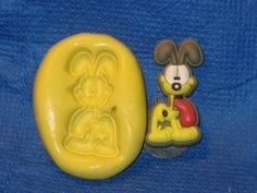 Garfield Odie Push Mold Food Safe Silicone #483 Cake Design Chocolate Resin  Soap Candle by LobsterTailMolds on Etsy