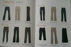 Trinny & Susannah - The Survival Guide, best trousers for your shape