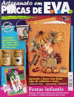 Artesanato com amor...by Lu Guimarães: Revista Artesanato em placas de  EVA n 3 A1 N1