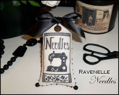 Black Needles... Free pattern