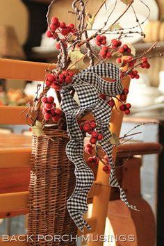 Chair Basket
