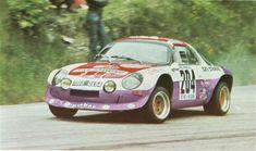 """Visant la victoire sur des courses internationales, Alpine développa entre 1971 et 1972 quatre prototypes A110 """"Groupe 5""""."""