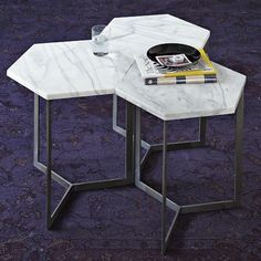 The Hex Side Table from West Elm