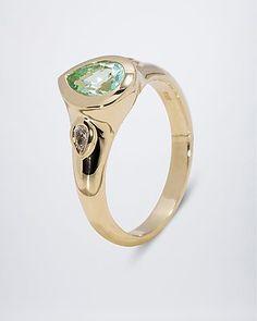 Paraibaturmalin-Diamant-Ring  #Edelstein #schmuck von #sognidoro #facettenreich mit #René #Conradt #sogni #doro #classic mit #Frank #Hartenberger und #silberzeit mit #Ute #Wohlfart auf #HSE24 #colored #gemstone #jewelry