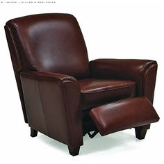 Palliser Furniture Hannah Leather Club Recliner | Wayfair