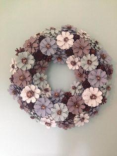 Pinecone Wreath, Natural Wreath, Door Wreath, Wall decoration, Seasonal Wreath. Christmas wreath. Pinecone wreath.