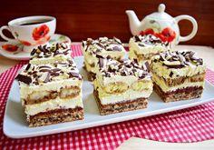 Romanian Desserts, Food Cakes, Tiramisu, Cake Recipes, Biscuits, Sweet Tooth, Sweet Treats, Cheesecake, Deserts