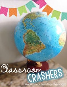 Classroom Crashers! Take a peek into other classrooms! From A Modern Teacher Blog; highlighting classrooms from around the world