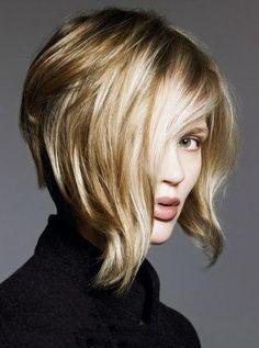 romantic layered bob hairstyles