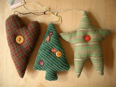 very cute ornaments Swedish Christmas Decorations, Holiday Ornaments, Christmas Tree Decorations, Homemade Christmas, Diy Christmas Gifts, Christmas Holidays, Christmas Stuff, Happy Holidays, Merry Christmas