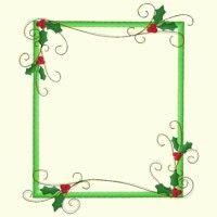 Christmas Border Page Borders Design, Border Design, Free Design, Christmas Border, Christmas Frames, Christmas Graphics, Machine Embroidery Applique, Christmas Embroidery, W 6