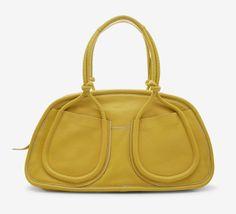Hogan Yellow Shoulder Bag