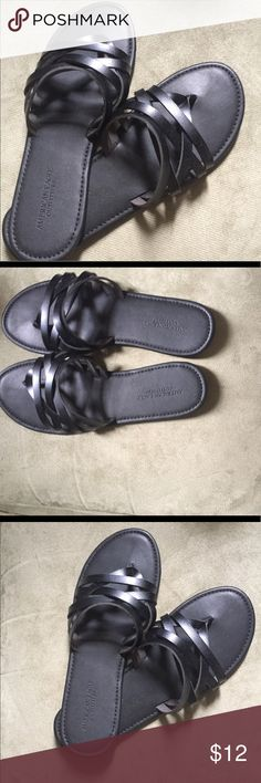 American Eagle Outfitters Sandals AEO Strappy Sandals, never before worn. American Eagle Outfitters Shoes Sandals
