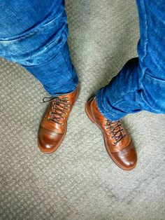 Red Wing Iron Ranger in harness leather. Keeper for life.