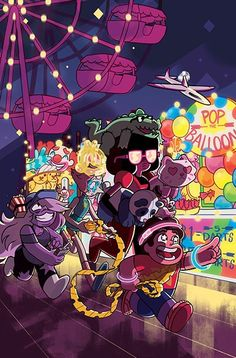 Steven Universe :The gems meet the Fair! :D LOVE IT