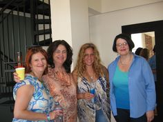 The four musketeers and long time supporters of this series. My friends: Valerie Berwanger, Betty Goldstein, Stacy Robin and Deborah Prosser.