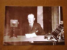 L'inventore Gugliemo Marconi negli ultimi anni di vita