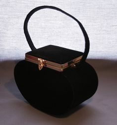 ♥•✿•♥•✿ڿڰۣ•♥•✿•♥  black velvet evening bag  ♥•✿•♥•✿ڿڰۣ•♥•✿•♥