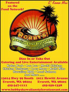 Bobby's Hawaiian Style Restaurant in Everett, WA