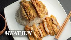 Korean-Hawaiian Meat Jun - YouTube