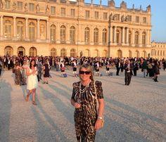 Designer Chantal Levesque was part of a prestigious evening at Château de Versailles while in Paris for the Salon international de la lingerie et du swimwear - Mode City. SHAN.ca Mode City, Amazing Destinations, Versailles, To Go, Louvre, Lingerie, Paris, Swimwear, Travel