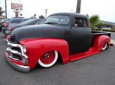 1952 Chevy 5-window PU- whoever restored this is one bad ass dude for having such great taste!