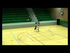 DHF AT U 14, Forsvar individuelt, øvelse 1   Forsvar på 9 meter