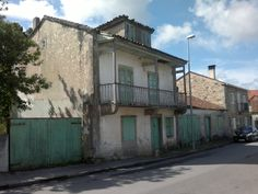 Casa do Correo en Tella, recordo para Rafael e Lela.