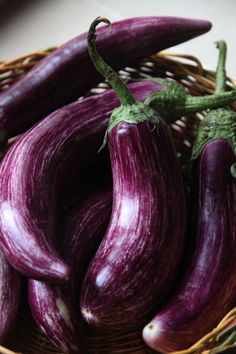 This is my Greece | Tsakoniki eggplant, native to the town of Leonidion, in the Peloponnese