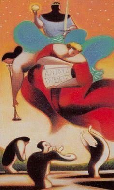 Judgement (Archangels) - Dante Tarot by Andrea Serio, Giordano Berti