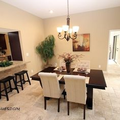 Dining Room Staged By Revamp Professional Home Stagers