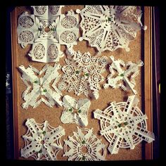 Doctor Who snowflakes!