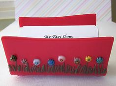 Fused Glass Business Card Holder Bouquet Pinterest Holders And