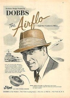 1956 Dobbs Ad - Art of Manliness?