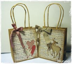 Decoratinggiftbags decorating gift bags and created a decorated paper bags pesquisa google negle Image collections