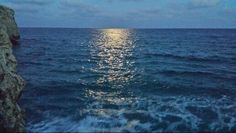 Reflet lune cala mendia, majorque