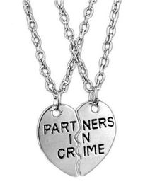 Best Friends BFF, Necklaces Partners in Crime Due to high demand, please allow 14-16 business days to process and ship your items.