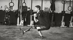 Noah Galloway is a Combat Fitness Training Facility Athlete.  Here is a link to his blog.  He has overcome great odds and is very inspiring.