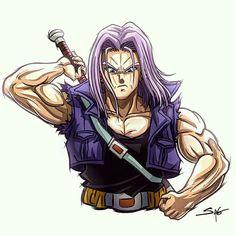 Dragon Ball Z, Best Cartoon Shows, Trunks Dbz, Super Movie, Good Anime Series, Dbz Characters, Z Arts, Chibi, Son Goku